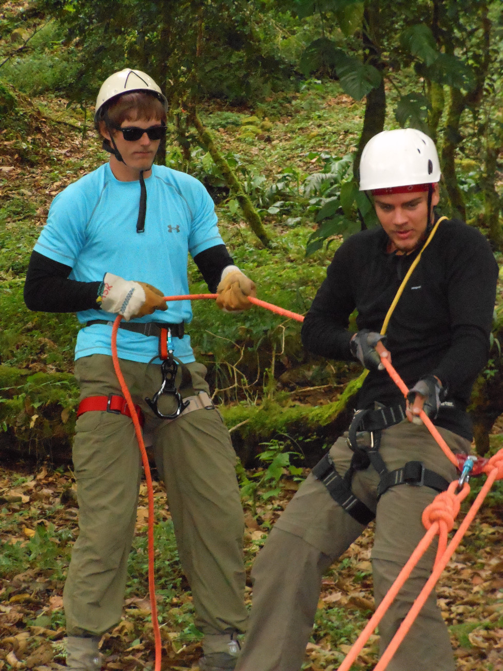 Technical Ropes Rescue: Operations training