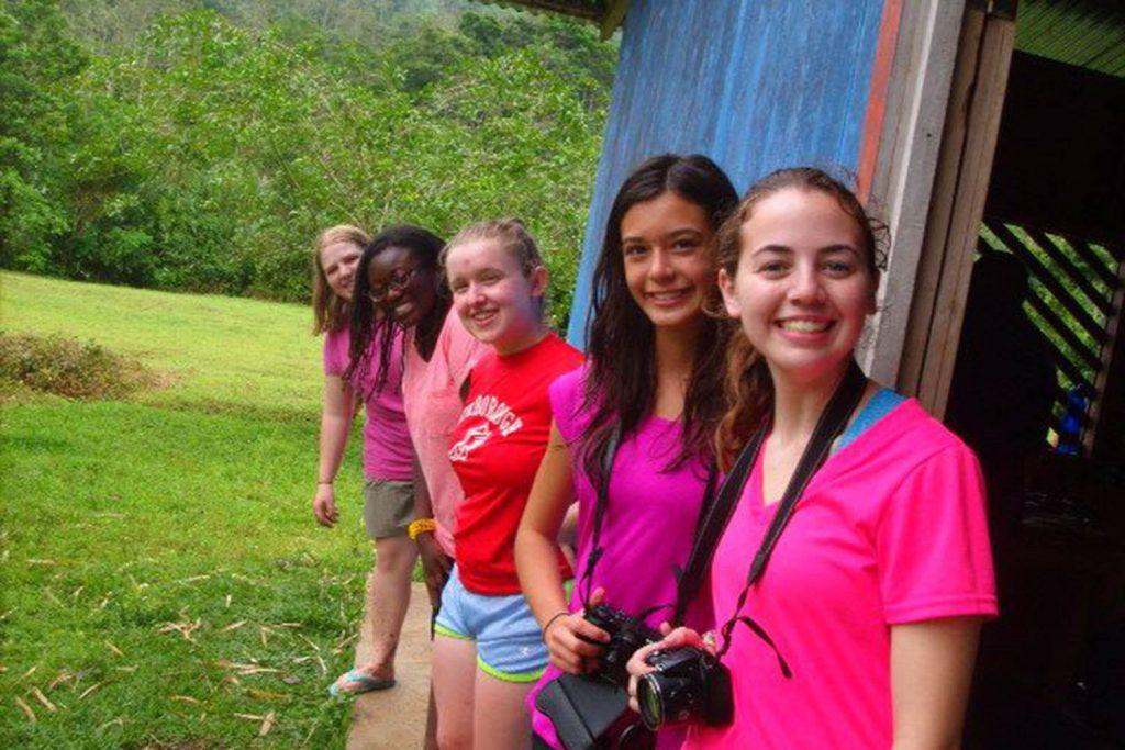 Costa rica girls photos