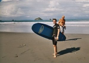 outward bound costa rica alexis with surf board